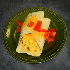 Breakfast Burrito with Chorizo from PFM